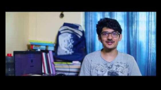 Devansh Garg IIT JEE 2017, Rank 19